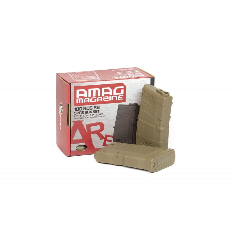 M4 AMAG 100rd Magazine (5pcs/Box)