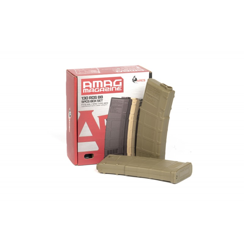 M4 AMAG 130rd Magazine (5pcs/Box)