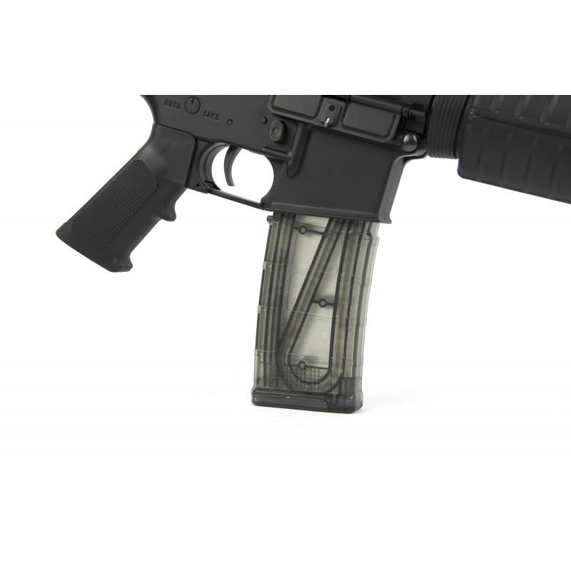 M16 140rds Transparent Magazine For Aeg(5pcs/Box)